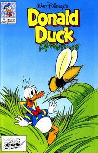 Cover Thumbnail for Walt Disney's Donald Duck Adventures (Disney, 1990 series) #38 [Direct]