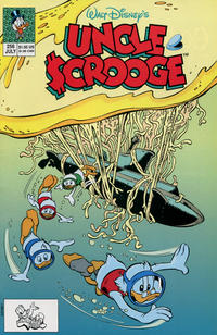 Cover Thumbnail for Walt Disney's Uncle Scrooge (Disney, 1990 series) #256 [Direct]