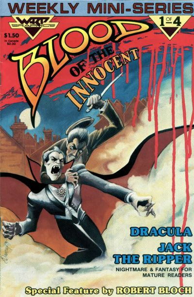 Cover for Blood of the Innocent (WaRP Graphics, 1986 series) #1
