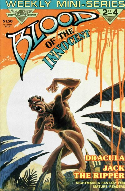 Cover for Blood of the Innocent (WaRP Graphics, 1986 series) #2