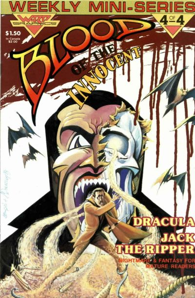 Cover for Blood of the Innocent (WaRP Graphics, 1986 series) #4