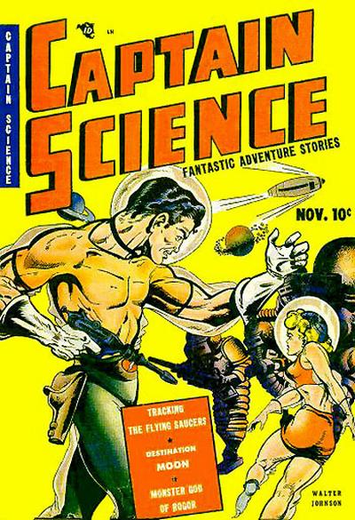 Cover for Captain Science (Youthful, 1950 series) #1