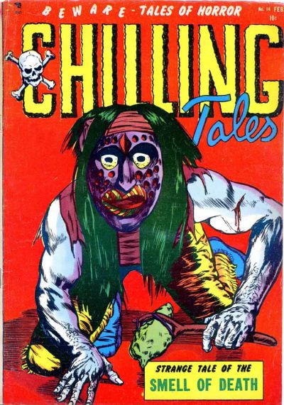 Cover for Chilling Tales (Youthful, 1952 series) #14