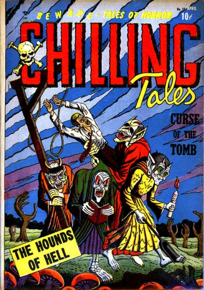 Cover for Chilling Tales (Youthful, 1952 series) #15