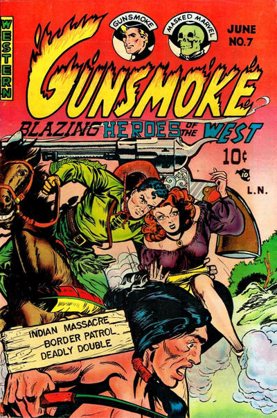 Cover for Gunsmoke (Youthful, 1949 series) #7
