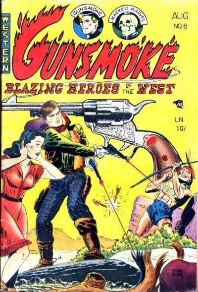 Cover for Gunsmoke (Youthful, 1949 series) #8