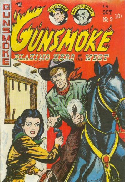 Cover for Gunsmoke (Youthful, 1949 series) #9