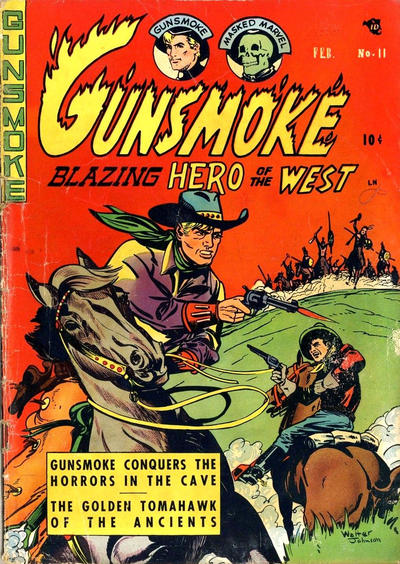 Cover for Gunsmoke (Youthful, 1949 series) #11