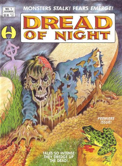 Cover for Dread of Night (Hamilton Comics, 1991 series) #1