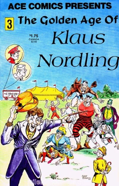 Cover for Ace Comics Presents (A.C.E. Comics, 1987 series) #3