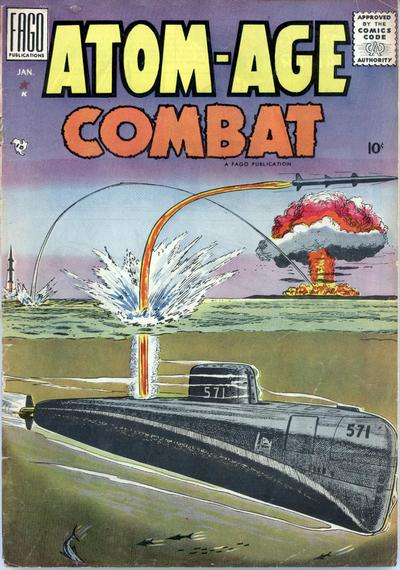 Cover for Atom Age Combat (Fago Magazines, 1958 series) #2