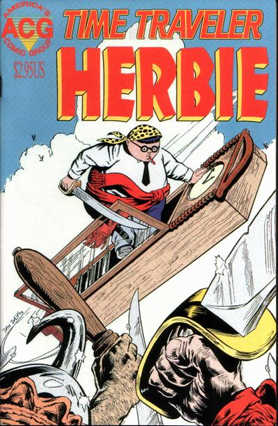 Cover for Time Traveler Herbie (Avalon Communications, 1998 series) #1