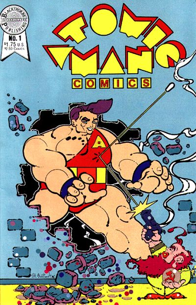 Cover for Atomic Man Comics (Blackthorne, 1986 series) #1