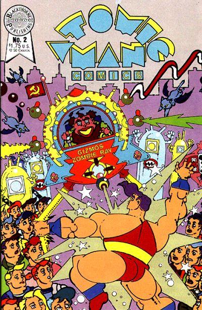 Cover for Atomic Man Comics (Blackthorne, 1986 series) #2
