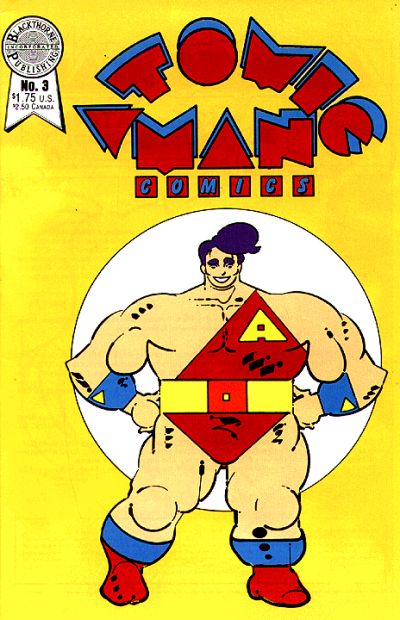 Cover for Atomic Man Comics (Blackthorne, 1986 series) #3