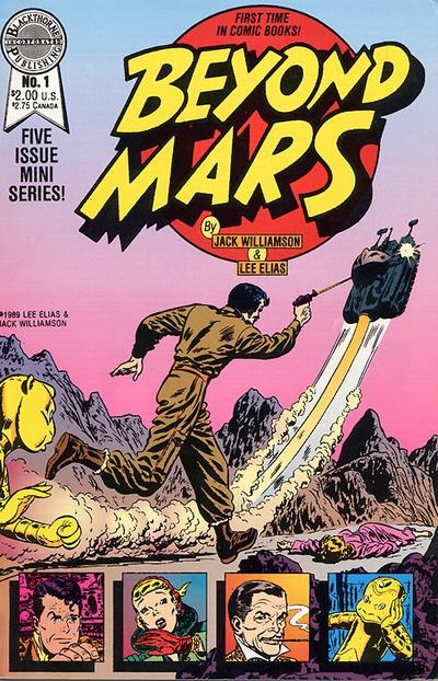 Cover for Beyond Mars (Blackthorne, 1989 series) #1