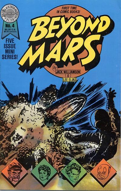 Cover for Beyond Mars (Blackthorne, 1989 series) #4