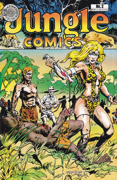 Cover for Jungle Comics (Blackthorne, 1988 series) #2