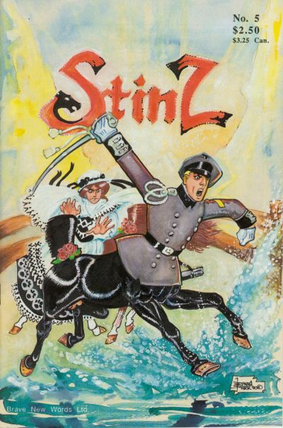 Cover for Stinz (Brave New Words, 1990 series) #5