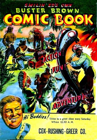 Cover for Buster Brown Comic Book (Brown Shoe Co., 1945 series) #1