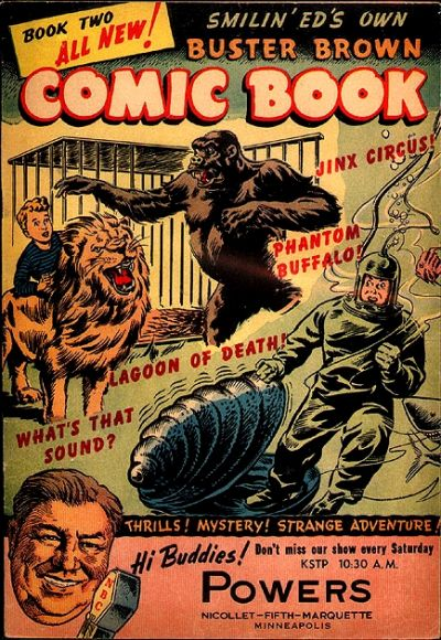 Cover for Buster Brown Comic Book (Brown Shoe Co., 1945 series) #2