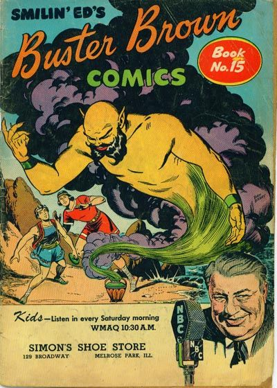 Cover for Buster Brown Comic Book (Brown Shoe Co., 1945 series) #15