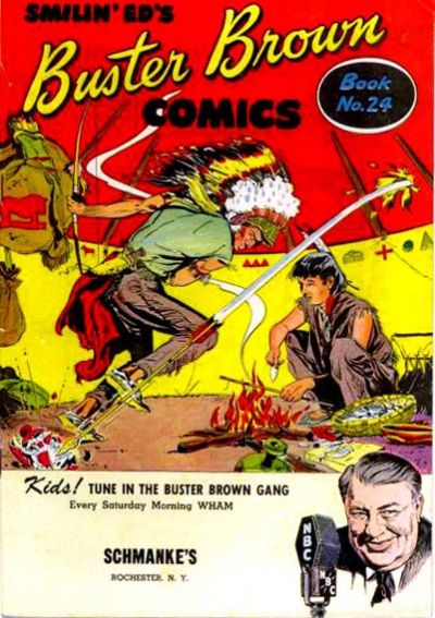 Cover for Buster Brown Comic Book (Brown Shoe Co., 1945 series) #24