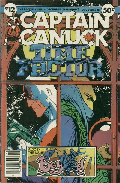 Cover for Captain Canuck (Comely Comix, 1975 series) #12 [Direct Edition]