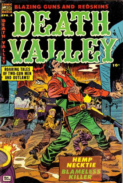 Cover for Death Valley (Comic Media, 1953 series) #4