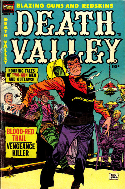 Cover for Death Valley (Comic Media, 1953 series) #5