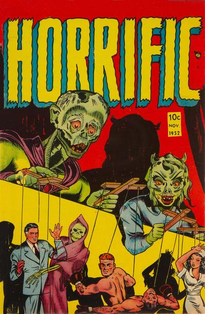Cover for Horrific (Comic Media, 1952 series) #2