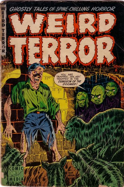 Cover for Weird Terror (Comic Media, 1952 series) #1