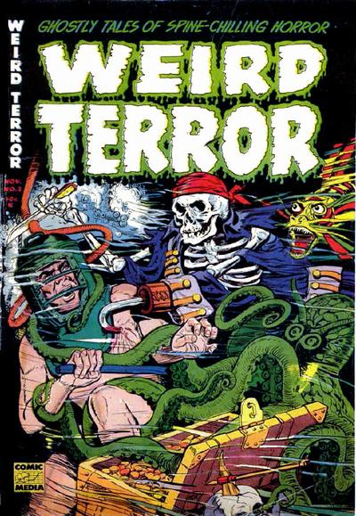 Cover for Weird Terror (Comic Media, 1952 series) #2