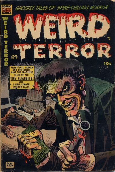 Cover for Weird Terror (Comic Media, 1952 series) #9