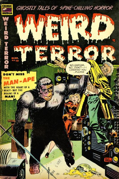 Cover for Weird Terror (Comic Media, 1952 series) #10
