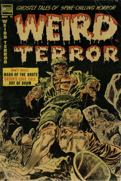 Cover for Weird Terror (Comic Media, 1952 series) #11