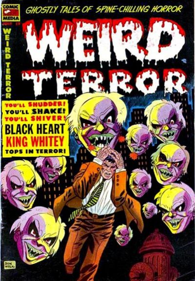 Cover for Weird Terror (Comic Media, 1952 series) #12