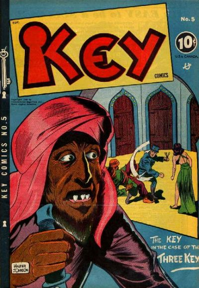 Cover for Key Comics (Consolidated Magazines, 1944 series) #5