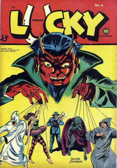 Cover for Lucky Comics (Consolidated Magazines, 1944 series) #5