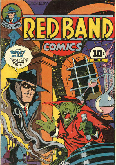 Cover for Red Band Comics (Rural Home, 1944 series) #2