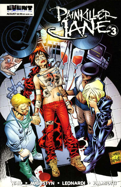 Cover for Painkiller Jane (Event Comics, 1997 series) #3 [Quesada Cover]