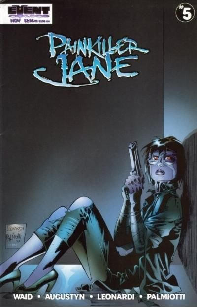 Cover for Painkiller Jane (Event Comics, 1997 series) #5 [Quesada Cover]