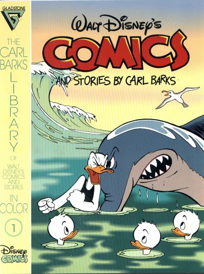 Cover for The Carl Barks Library of Walt Disney's Comics and Stories in Color (Gladstone, 1992 series) #1