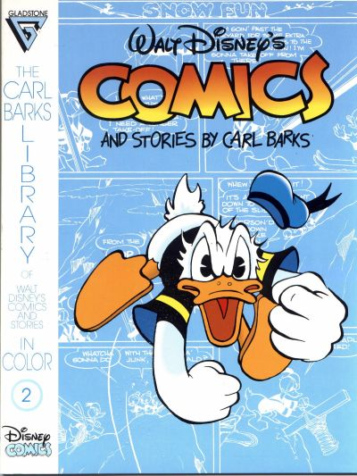Cover for The Carl Barks Library of Walt Disney's Comics and Stories in Color (Gladstone, 1992 series) #2