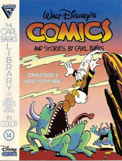 Cover for The Carl Barks Library of Walt Disney's Comics and Stories in Color (Gladstone, 1992 series) #14