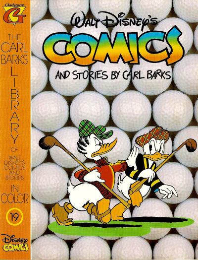 Cover for The Carl Barks Library of Walt Disney's Comics and Stories in Color (Gladstone, 1992 series) #19