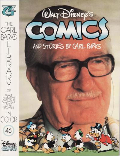 Cover for The Carl Barks Library of Walt Disney's Comics and Stories in Color (Gladstone, 1992 series) #46