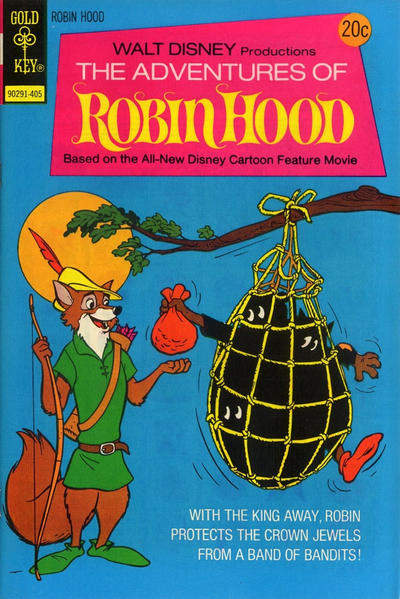Cover for Walt Disney Productions The Adventures of Robin Hood (Western, 1974 series) #2