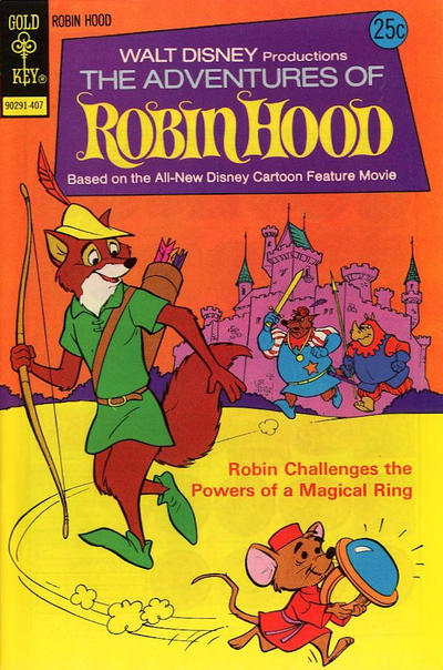 Cover for Walt Disney Productions The Adventures of Robin Hood (Western, 1974 series) #3