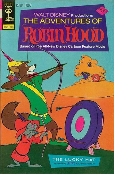 Cover for Walt Disney Productions The Adventures of Robin Hood (Western, 1974 series) #4